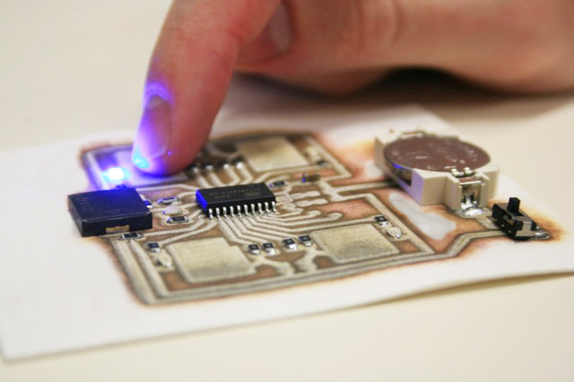 3D printed circuit boards